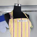 Bonitinha mulheres avental sarja de algodão de cozinha Chef de cozinha de beleza