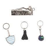 Chaîne de clés en métal, de la Chambre forme Trousseau Logo voiture, le métal le trousseau