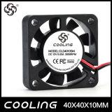 Utilizar un humidificador 40x40x10mm 12V a baja velocidad del ventilador axial