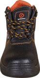 Ботинки безопасности ровной кожаный средней лодыжки кислотоупорные в штоке