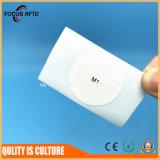 Etiqueta esperta da microplaqueta de NFC RFID com tamanho e logotipo personalizados