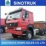 Caminhões do veículo com rodas do caminhão de reboque HOWO da qualidade superior 12 para a venda