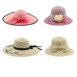 夏の女性の日曜日の保護バケツの日曜日の帽子
