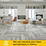De madera gris suelos de baldosas de cerámica/porcelana la impresión digital