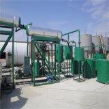 Planta de reciclaje usada del aceite de motor, máquina de la purificación de petróleo de motor, destilería del aceite de motor
