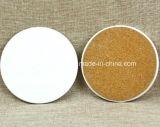 Af:drukken van de Onderlegger voor glazen van de Onderlegger voor glazen van de Kop van de Mat van de kop het Ceramische met het Embleem van de Douane