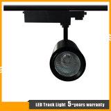Luz branca/preta 15With20With30With40W da alta qualidade da carcaça do diodo emissor de luz do ponto da trilha