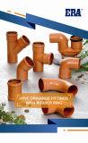 ガスケットのプラスチック管および付属品が付いているUPVC圧力付属品