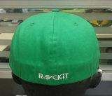 chapéu feito sob encomenda bordado 3D do Snapback de Flexfit do chapéu do partido