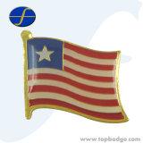 Выдвиженческий по-разному Pin флага России металла страны (FTFP1611A)