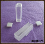 Provetta standard personalizzata di vetro di quarzo del laboratorio