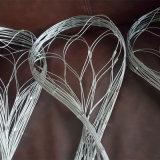 AISI 304の適用範囲が広いステンレス鋼Ferruledワイヤーロープの網