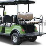 Carro de golfe de serviço público a pilhas de 4 assentos