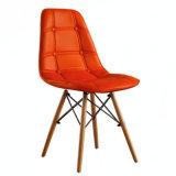 Sillas de EMS data de 18 pulgadas de altura sentado sillas de comedor moderno de la Pierna de madera silla de plástico sala de espera