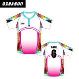 Jersey bon marché faits sur commande modèle, chemise de rugby, ligue Jersey de rugby de sublimation en gros de rugby