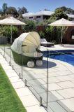 Frameless Glasgeländer/Balustrade-Glaszaun für Balkon und Swimmingpool