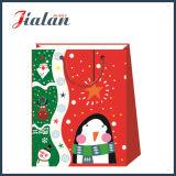Nette 4c gedruckte Weihnachtsgeschenk-Verpackungs-Papier-GroßhandelsEinkaufstasche