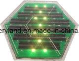 Brique solaire IP68 de trottoir intelligent d'alignement solaire