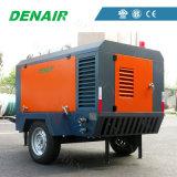 190 Cfm 7 van de Diesel van de Staaf Compressor de Draagbare Lucht van de Schroef met 60 KW