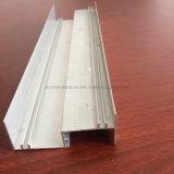 Quadrato, profilo rotondo e differente dell'espulsione della lega di alluminio per il portello e tubo 115 della finestra