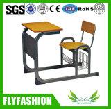 A mesa de madeira combinado do estudante ajustou-se para a sala de aula (SF-90S)