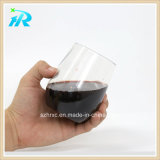 10 Unze-Haustier-Finger-Kurven-Plastikwein-Cup