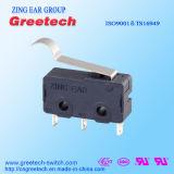 Homologations de sécurité mondial 0,1A~12A Micro-interrupteur interrupteur à action rapide