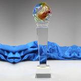 Trofeo di cristallo dei pesci di più nuovo nuovo disegno popolare