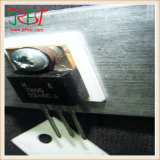95 % A12O3 en céramique d'isolation thermique de l'alumine en céramique