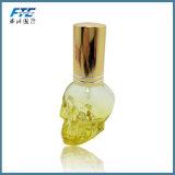 3D Skullcandyの香水瓶の詰め替え式の香水の噴霧器のびん
