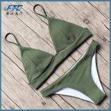 Bandagem 2018 Biquínis Definir Empurre para cima e calções de banho Swimsuit Sexy Bikini
