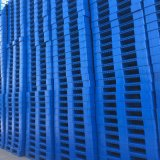 1100X900 paletes de plástico na face de sólidos, de HDPE palete único lado Palete Palete barata