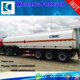 3車軸40-50m3 Oil Tanker/Fuel Tanker Semi Trailer
