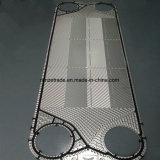 Le matériau de l'acier inoxydable 316L/304 plaque les pièces de rechange pour l'échangeur de chaleur de plaque de garniture