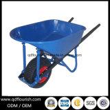 Carrello Wb7802 del carrello dello strumento della riga della barra di rotella della carriola dello strumento di giardino