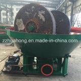 Esmerilhe a máquina de ouro/planta de moinho de ouro Molhado/Molhado Moinho horizontal de minério de ouro