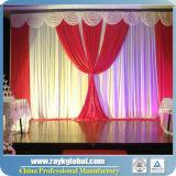 Telón de fondo del tubo y drapeado Kits para la venta al por mayor de la boda como telón de fondo del tubo y drapeado