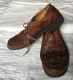 Sommer-Grad verwendete Schuhe
