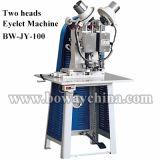 Boway 2 쌍둥이 두 배 2 헤드 반 자동적인 반 자동 전기 작은 구멍 펀처
