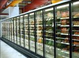 Glass Door를 가진 강직한 Fruit 및 Vegetableopen Display Showcase Freezer