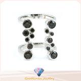 Toebehoren 925 van de manier Echte Zilveren Ring (R10236)