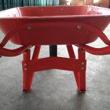 65L Construção e Jardim Wheelbarrow bandeja de metal para a Indonésia