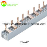 Quality 높은 Pin Type 3p Electrical Comb Busbar 100A