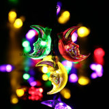 Moon Solar String Lights for Outdoor, Wedding, Festival (multicolores)