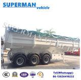 32cbm 반 실용적인 화물 쓰레기꾼 팁 주는 사람 트럭 트레일러