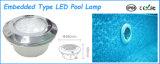 수영풀을%s RGB에 의하여 끼워넣어지는 LED 수중 램프
