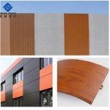 Couleur personnalisée PVDF revêtement en aluminium à revêtement du rouleau de feuille de panneaux muraux de plein air