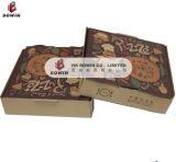 熱い販売シートの習慣によって印刷される折るボックスが付いているFoldable段ボール紙ピザボックス
