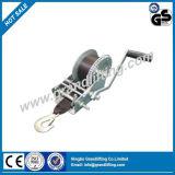 El cable cabrestante manual mano
