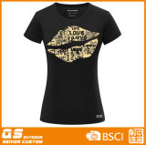 T-shirt de chemise de circuit de baiser de la mode des femmes